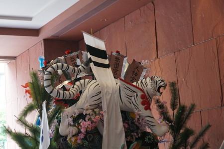 2014年 博多祇園山笠 東流の舁き山笠 四神守天而人護郷土(龍の舁き山) (7)