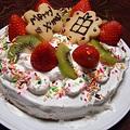 写真: クリスマスケーキ@2010年