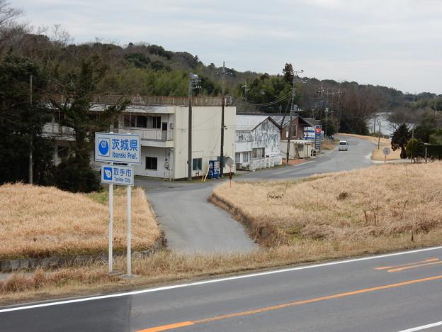 83km付近で一瞬茨城県へ