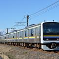 成田線普通列車 2451M (209系)
