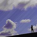 写真: 空に歌う