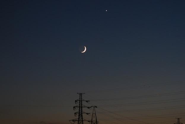地球照と宵の明星1