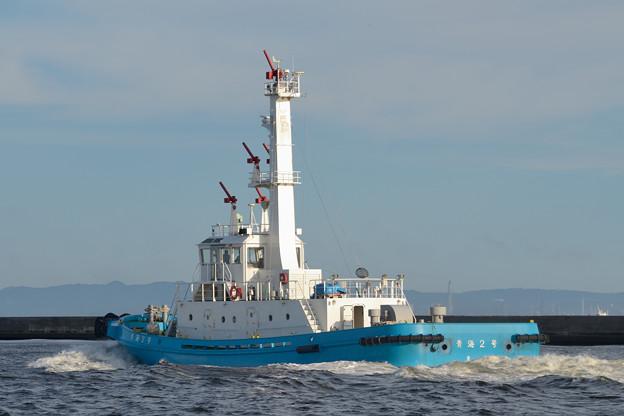 民間消防船 青海2号 -2