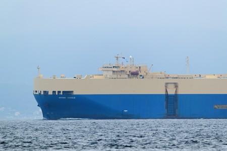 3)180m GRAND CHOICE(35mm換算750mm)北航船 富津湊川河口方面