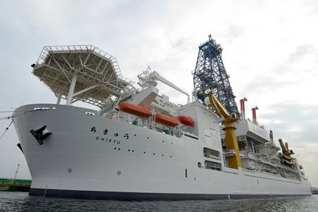 "JAMSTEC 地球深部探査船""ちきゅう""一般公開に参加してきました"