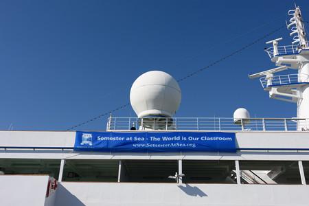 World Odyssey 横浜初入港 -5