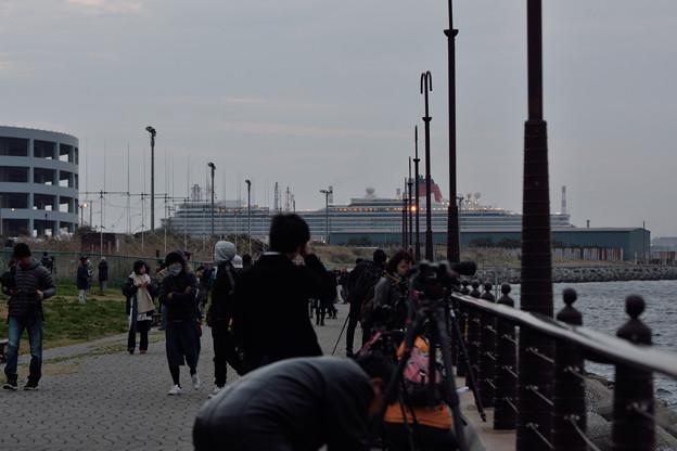 2016 クイーン・エリザベス 横浜入港 -15