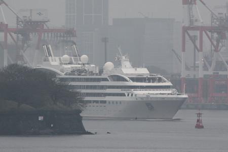 LE SOLEAL(ル・ソレアル)東京港入港