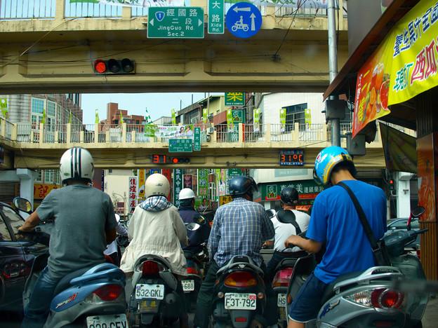 台湾・新竹市街地