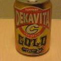 写真: 『サントリー デカビタC ゴールド』を飲む。元気飲料の基礎らしいパワ...