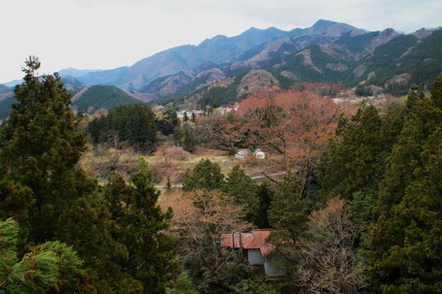 秩父の山村風景