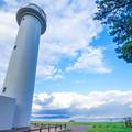 写真: 平舘灯台より