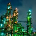 写真: 川崎 工場夜景