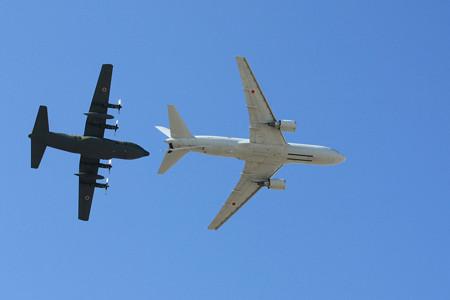 KC-767 C-130H 空中給油デモ IMG_9282_2