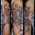 鳳凰 タトゥー 大阪 刺青 女性刺青画像 タトゥースタジオ tattoo