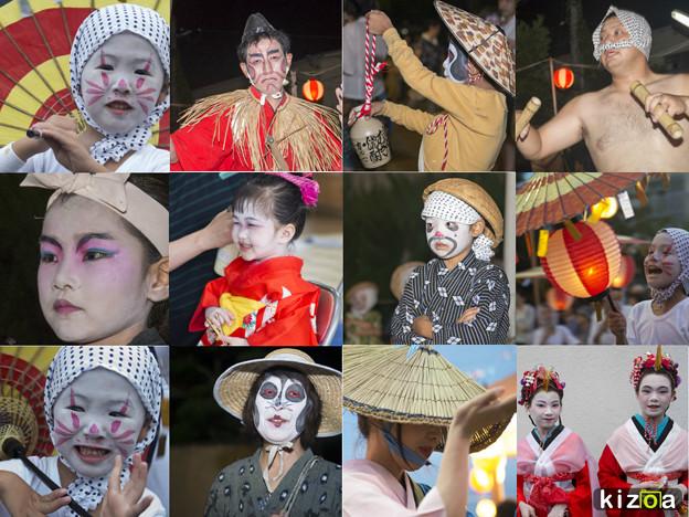 写真: 姫島の盆踊りから