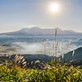 阿蘇五岳を望む