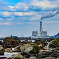 写真: 火力発電所