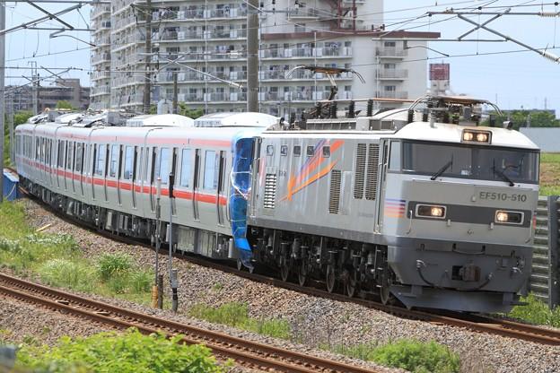 9371レ EF510 510+首都圏新都市鉄道TX2000系2171F 6両