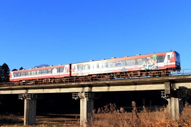 119D 鹿島臨海鉄道6000形6006+6016