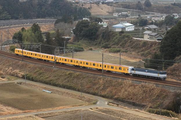 8862レ EF65 2065+東京メトロ1000系1130F 6両