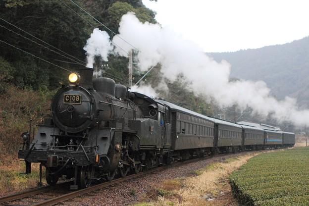 102レ C10 8+旧型客車 5両