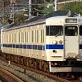 Photos: 163M 415系本コラFJ106+本ミフFM1520編成 8両