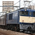 Photos: 回9842レ EF64 1051+旧型客車 5両