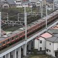 Photos: 1164E 209系千マリM73編成 8両