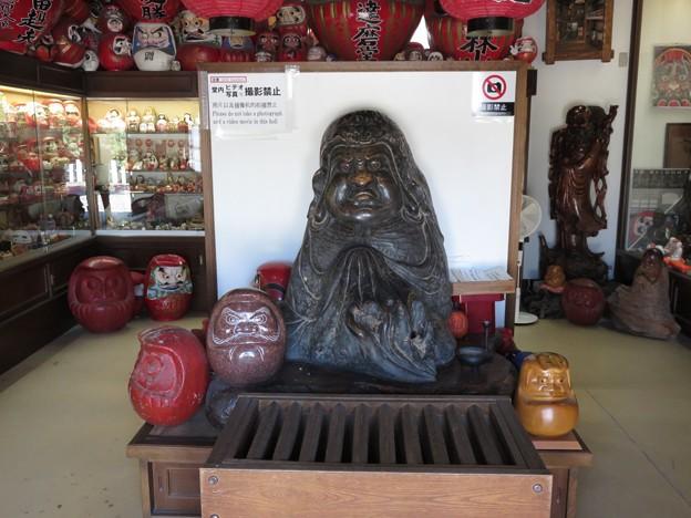 写真: 達磨大師像