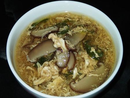 シイタケのたまごスープ