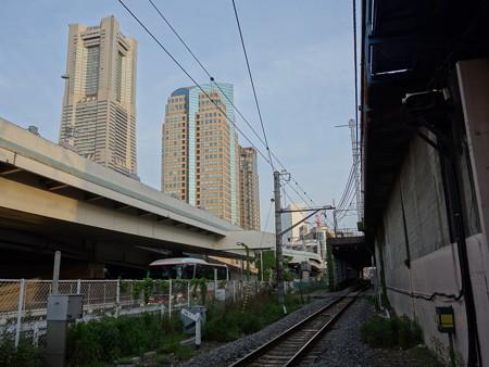 JR 貨物線 (横浜市西区桜木町)