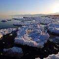 160313残氷と日の出3