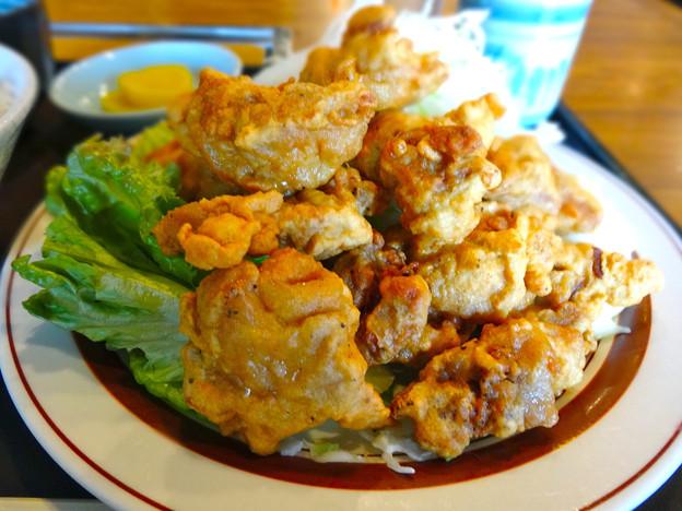 焼肉ハウス モンモン ランチ トリ天定食 広島市南区上東雲町