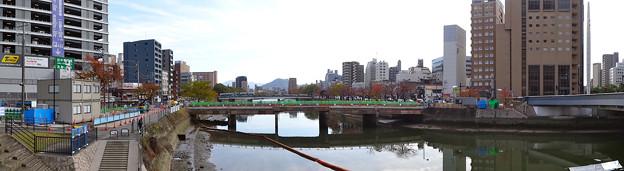 被爆70周年記念事業 猿猴橋復元工事 2015年8月-2016年3月 広島市南区猿猴橋町 - 的場町