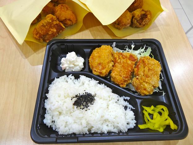 浅草 伝説のからあげ 縁 フジグラン広島店 からあげ弁当 ジューシーもも丸 カリッともも 広島市中区宝町