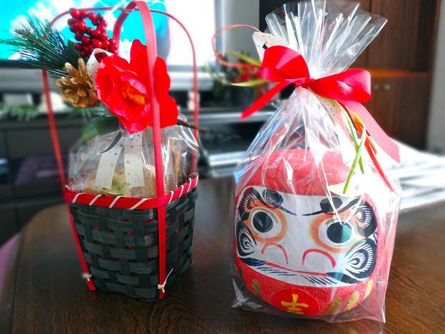 櫟 広島駅ビルASSE店 迎春菓 daruma doll 広島市南区松原町