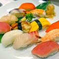 寿司カウンター銀華 SUSHI COUNTER GINGA 広島市中区紙屋町2丁目 サンモール地下