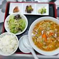 Photos: 中華酒場 一辰 日替ランチ 白菜と豚肉麺 広島市南区的場町2丁目