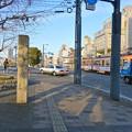 Photos: 比治山橋 道標 1921年 広島市南区比治山本町 比治山橋 河岸緑地