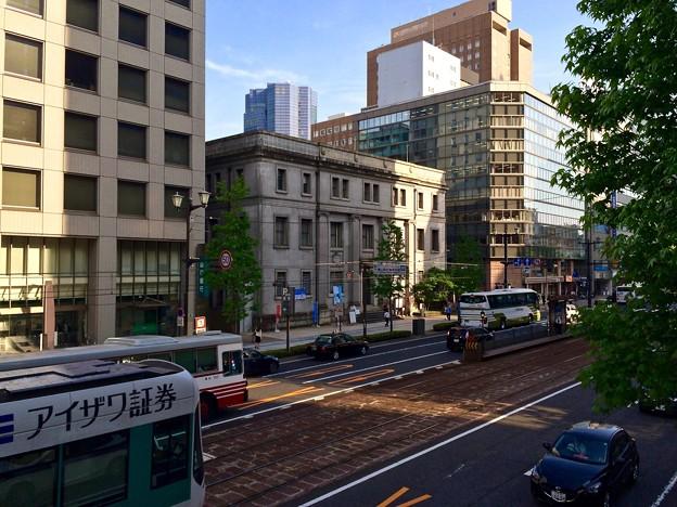 旧日本銀行 広島支店 広島電鉄 袋町電停 広島市中区袋町