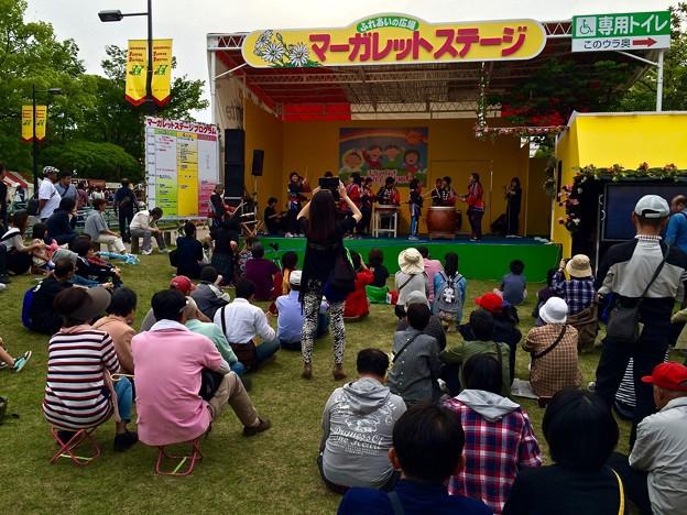 光清学園 ひろしまフラワーフェスティバル 平和公園ブロック マーガレットステージ 広島市中区中島町 2016年5月5日