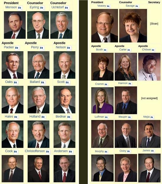 Photos: Two hierarchies : mormonism