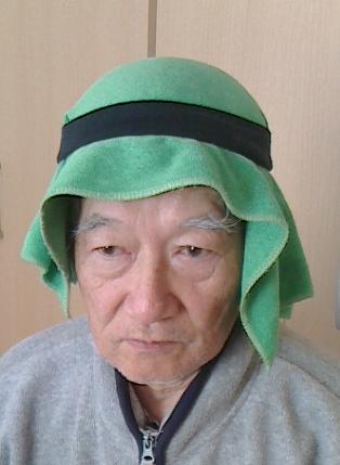 こんな頭巾(アラビア風)