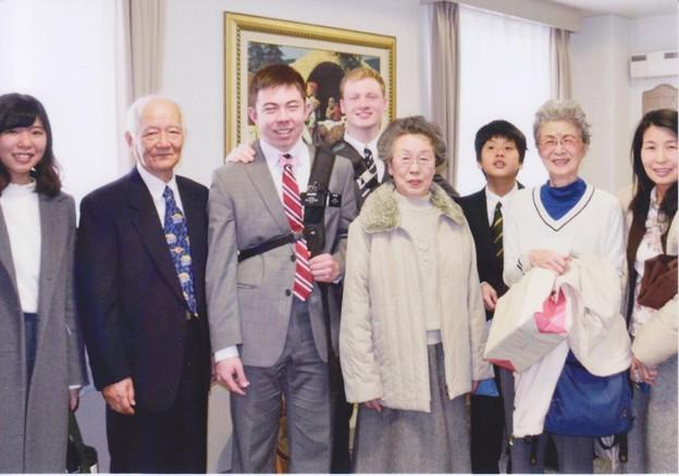 知り合いの孫が宣教師になり大阪へ