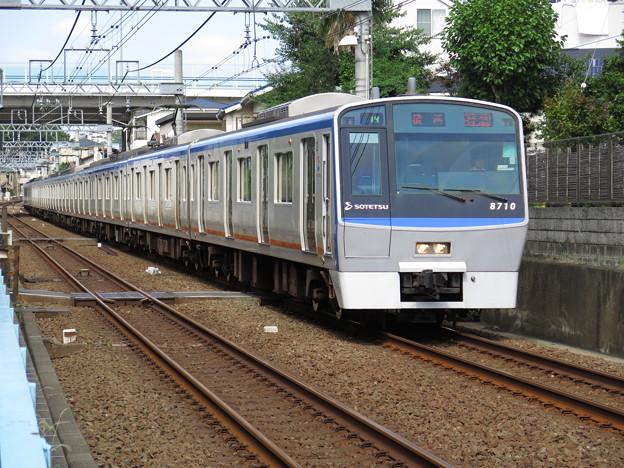 先頭に8710と書いてあるが、放出のことではない。 @相模鉄道本線...