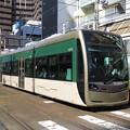 堺トラム、阿倍野に来れば・・・アベノトラム?? @阪堺電気軌道上町...