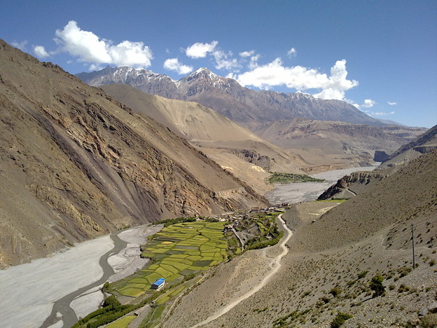 Greenland in the valley