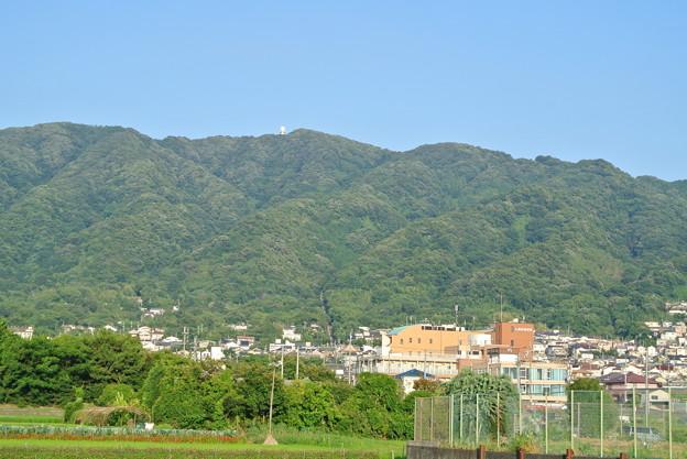 高安山と信貴山ケーブル線