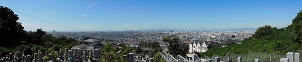 墓地からの眺め (1)